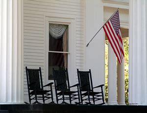 Amerikanische Veranda Stühle by S 252 Dstaaten Schaukelstuhl