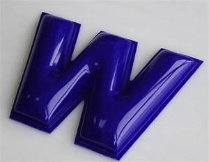 Formed plastic letters for Exterior plastic letters