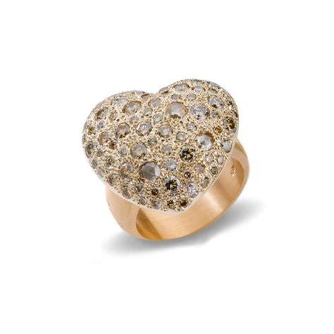 anello pomellato cuore anello sabbia pomellato gioielleria