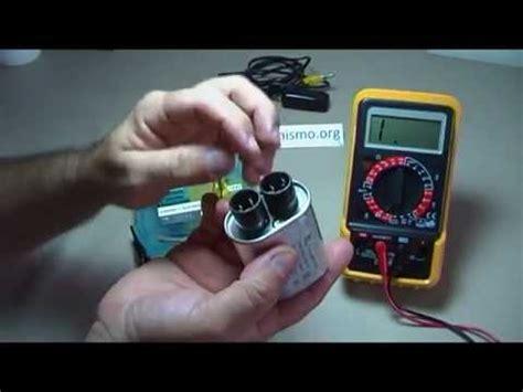 curso como comprobar un condensador capacitor de microondas 5 pruebas posibles 18