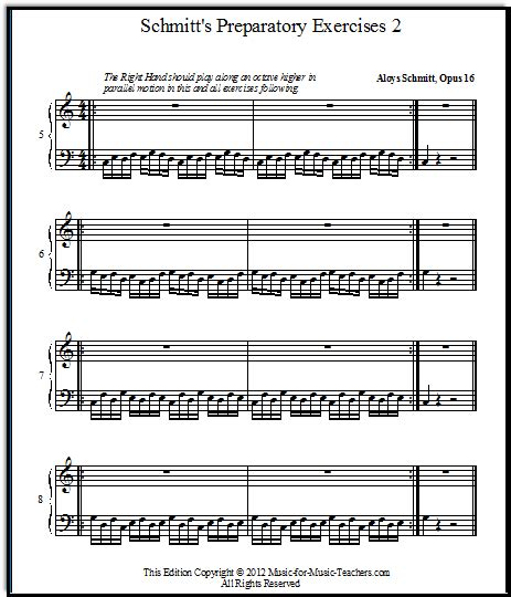 Super Teacher Worksheets Piano Exercises For Theory & Technique