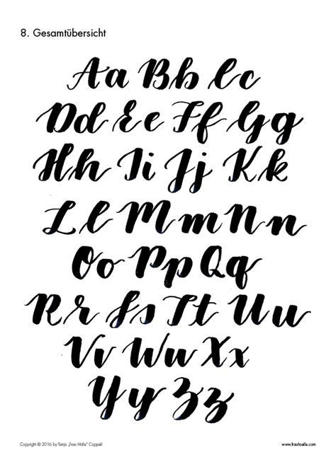 brush lettering alphabet letterattack brush lettering guide schriftstile 22082