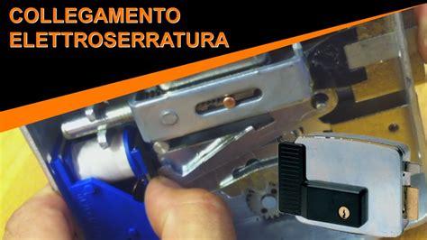 schema elettrico per elettroserratura bft cancelli
