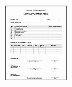 7 sample leave application forms sample example format With documents leaving job