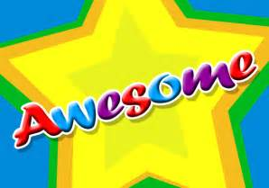 Word Awesome Clip Art