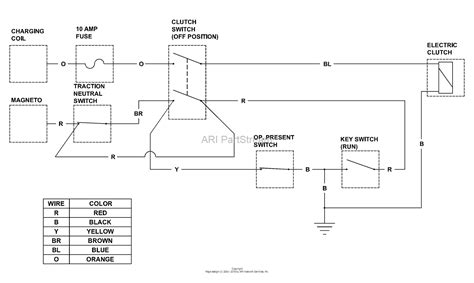 15 Schematic Wiring by Bunton Bobcat 630322 Power Unit 15hp Kawasaki Hydro