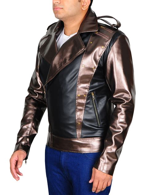Days of future past when he made his debut as quicksilver. X-Men Apocalypse Quicksilver Black Leather Jacket