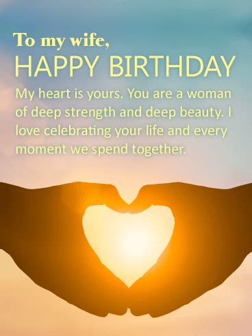 lets celebrate happy birthday wishes card  wife