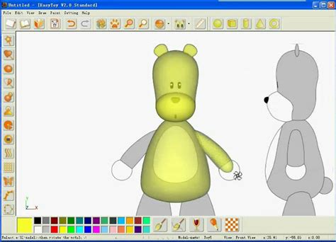 easy  modelling  sketched based easytoy software