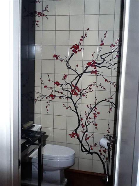 Japanese Cherry Blossom Bathroom Decor by Pin By Veronicaric Lehman On Decorating