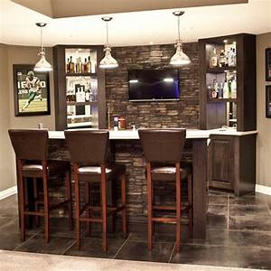 Small basement bar plans newhairstylesformen2014com for Brilliant house bars designs