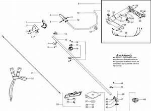 Husqvarna 129 R  967193301  Trimmer Shaft  U0026 Handle Spare