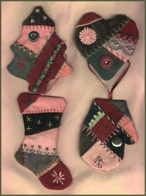 crazy quilt ornaments pattern   members