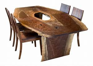 Fresh on the floor : Live-Edge Dining Table The Joinery