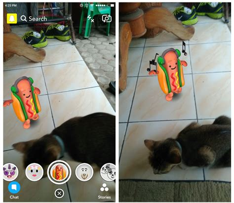 How To Use Snapchat Hot Dog Filter Social Media Apps Updates And Stories