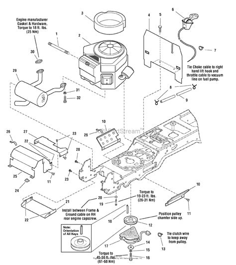 Sear 26 Kohler Engine Electrical Diagram by Snapper 2690069 Gt2354 54 Quot 23 Hp Hydro Drive Garden