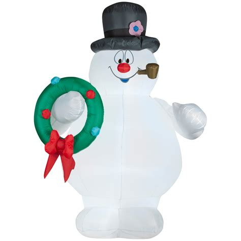 frosty the snowman airblown christmas decoration