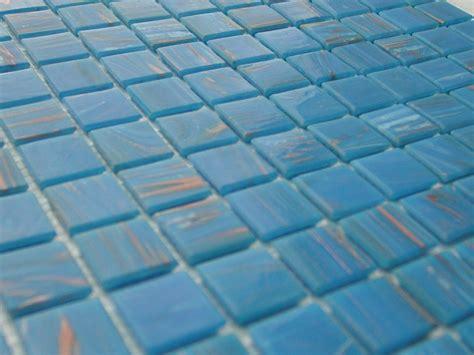 pate de verre mosaique mosaique p 226 te de verre artisanale avec gemmes bleu turquoise fonc 233 plaquette 2 cm