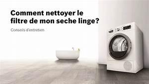 Filtre Seche Linge : entretenir son s che linge bosch comment nettoyer le ~ Premium-room.com Idées de Décoration