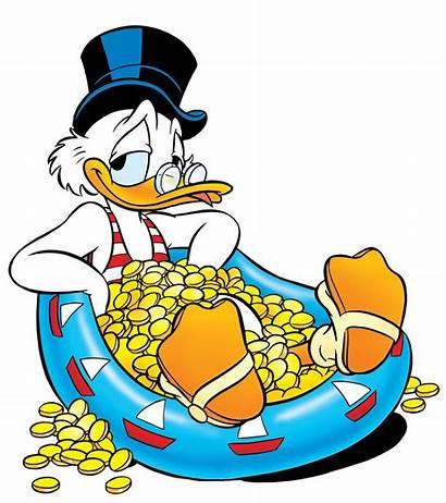 Dagobert Duck Geld Belasting Berekenen Stwity Het