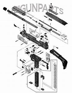 Uzi Semi Auto Diagram