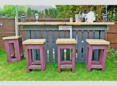 Pallet Outdoor Furniture PracticalyetChic Ideas