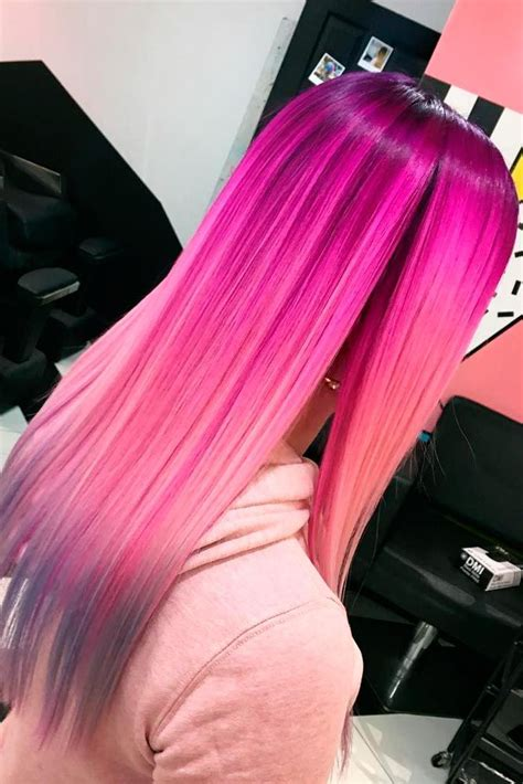 21 Loveliest Magenta Hair Color Ideas Long Hair