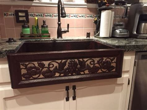 copper kitchen sink add  touch  elegance   kitchen
