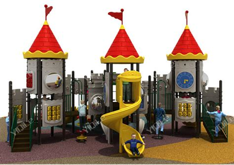 Elegant Outdoor Play Castle Equisite Outdoor Playground