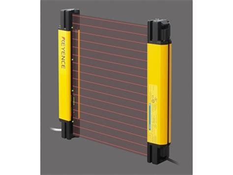 Keyence Light Curtain new safety light curtain series from keyence distributed