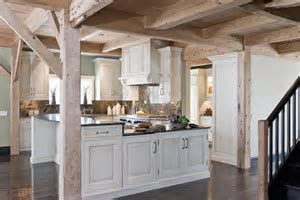 Photos of whitewashed kitchen cabinets
