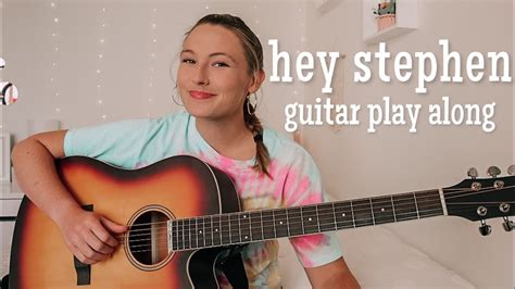 Taylor Swift Hey Stephen Guitar Play Along - Fearless ...