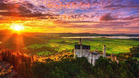 大自然夕阳唯美意境电脑壁纸高清大图_风景壁纸_