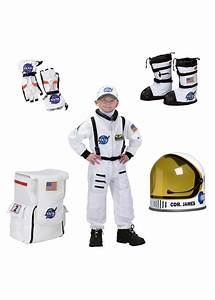 Astronaut Boys Costume Helmet Gloves Boots and Backpack ...