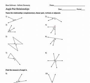 Kuta Software Infinite Geometry The Angle Addition