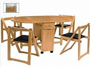 Gorgeous folding dining table chairs set beautiful for Try and attractive foldable dining table