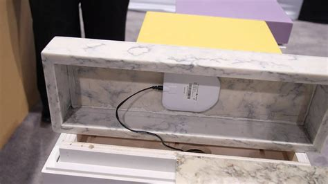 countertop lets charge devices wirelessly youtube