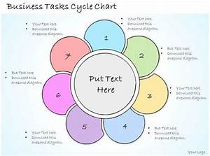 1113 Business Ppt Diagram Business Tasks Cycle Chart