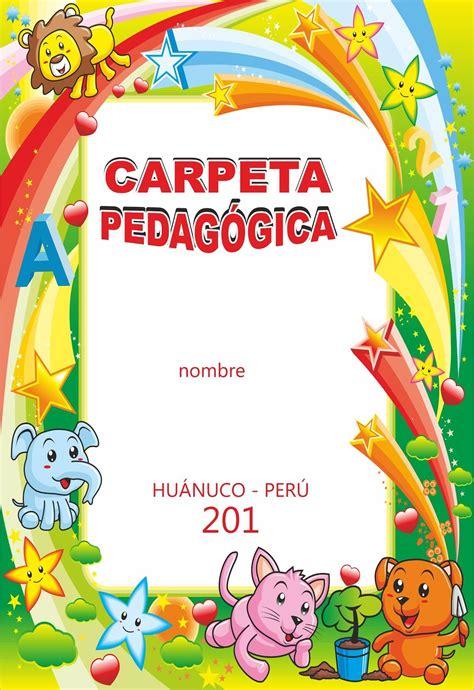 dise 241 os educativos de carpeta pedag 243 gica dise 209 o de carpeta caratulas y etiquetas