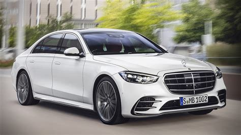 Additional details and images regarding the interior will be released by mercedes on august 12 when. 2021 Mercedes-Benz S-Class White AMG
