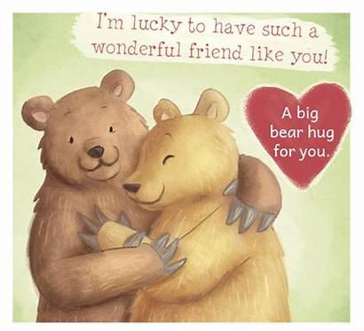Hug Friend Bear Friendship Special Friends Greeting