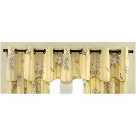 shop waverly 16 in l home classics scalloped valance