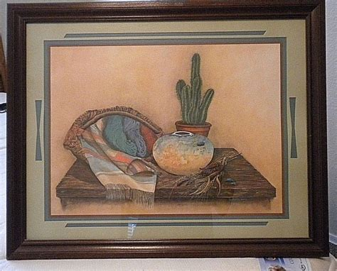 Home Interior Ebay by Vintage 1980s Southwestern Picture 31 Quot X 25 Quot X 1 Quot By
