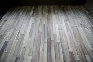 Gray oak flooring - Parquets de Tradition - #157