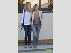 Cameron Diaz is All Smiles While Out to Lunch With a