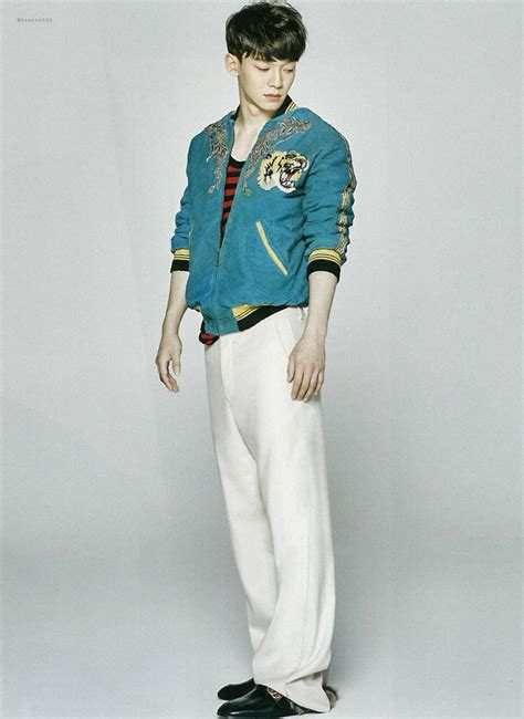 photo exo  vogue magazine  april issue kpopmap