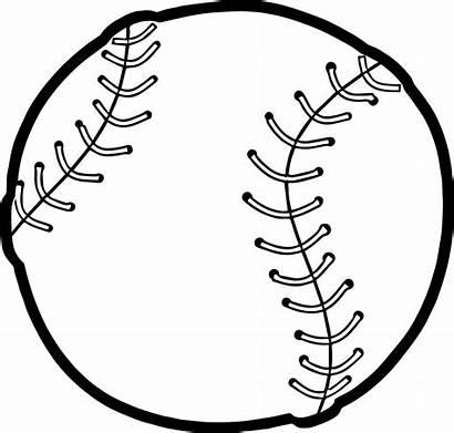 Baseball Coloring Ball Playing Drawing Pages Printable