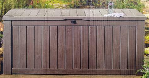 deck storage deck storage box 150 gallon