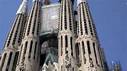 Sagrada Família during renovation 2013 - YouTube