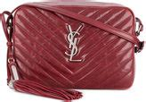 saint laurent red handbags shopstyle